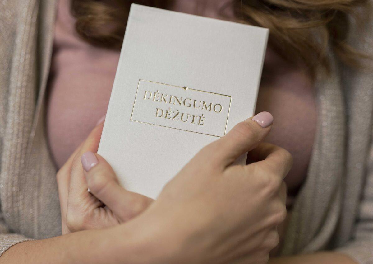 Dėkingumo dėžutė. Įkvėpimui
