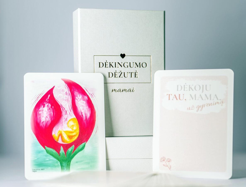 Santykio šiluma - Dėkingumo dėžutė MAMAI